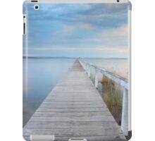 Long Jetty serenity - Australia seascape landscape iPad Case/Skin