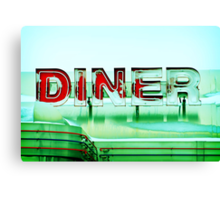 Rosie's Diner Canvas Print