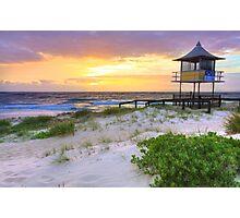 Beautiful sunrise at The Entrance, Central Coast, Australia seascape landscape Photographic Print