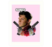 Jimmy is bae  Art Print