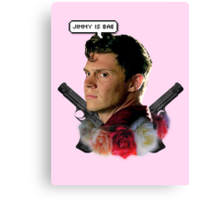Jimmy is bae  Canvas Print