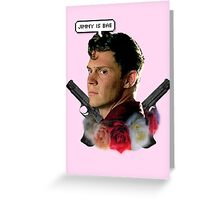 Jimmy is bae  Greeting Card