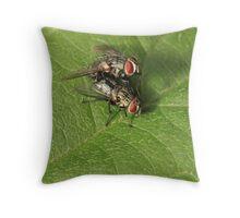 Mating Throw Pillow