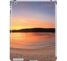 Sunrise Balmoral Beach Panorama  Australia seascape landscape iPad Case/Skin