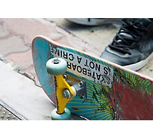 Skateboarding is not a Crime Photographic Print