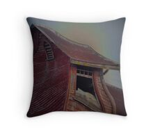 BUILDING WITH A TWIST Throw Pillow
