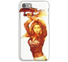 Fight like a girl iPhone Case/Skin