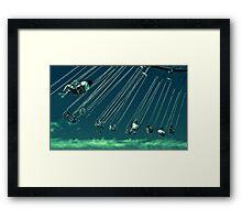 High Flying Adored Framed Print