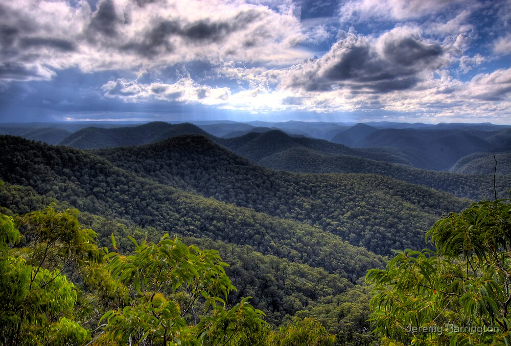 Wollemi National Park, Mountain Lagoon, NSW, Australia by Jeremy Harrington
