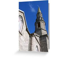 Chapel Spire Greeting Card