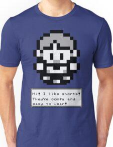 Hi!  I like Shorts! Unisex T-Shirt