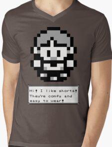 Hi!  I like Shorts! Mens V-Neck T-Shirt