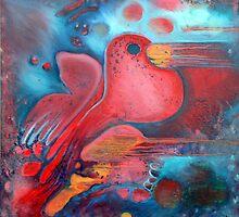 dove of peace by Faith Puleston