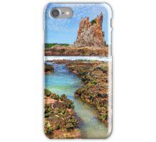 Cathedral Rocks Kiama Downs Australia seascape iPhone Case/Skin