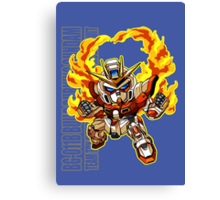 Flaming Fists Canvas Print