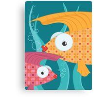 Ornate tropical fish Canvas Print