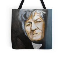 The Third Doctor  Tote Bag