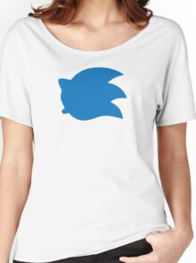 Sonic the Hedgehog Symbol - Super Smash Bros. (color) Women's Relaxed Fit T-Shirt