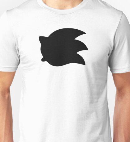 Sonic the Hedgehog Symbol - Super Smash Bros. (black) Unisex T-Shirt