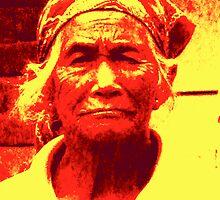 sorrow face by flowerindattic