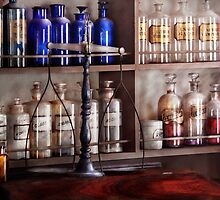Pharmacy - Apothecarius  by Mike  Savad