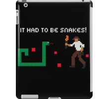 It Had to be Snakes! iPad Case/Skin