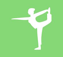 Wii Fit Symbol - Super Smash Bros. (white) by hopperograss