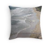 Australian Coast Line Throw Pillow