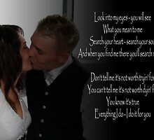 Wedding Song lyrics by Peter Redmond