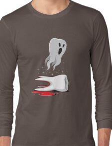Tooth Ghost Long Sleeve T-Shirt