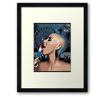 Night sky| GTA effect| Framed Print