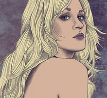 Carrie Underwood Portrait A by briandahms