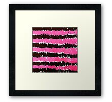 Line abstract Framed Print