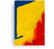 Primary Two Canvas Print
