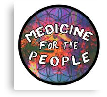 "Medicine For The People | ""Great Spirit"" Fan Art Canvas Print"