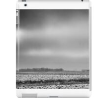 Winter In Farm Country iPad Case/Skin