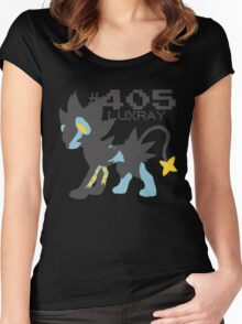 LUXRAY POKEMON Women's Fitted Scoop T-Shirt