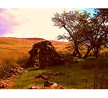 Snowdon cottage Photographic Print