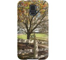 Landsc ape in the Autumn Fall Samsung Galaxy Case/Skin
