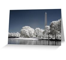Washington Monument (Infrared) Greeting Card