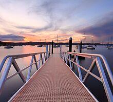 Sunset at Saratoga Australia by Leah-Anne Thompson