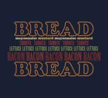 BLT Typography One Piece - Short Sleeve