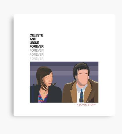 Celeste and Jesse Forever Canvas Print