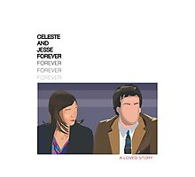 Celeste and Jesse Forever Photographic Print