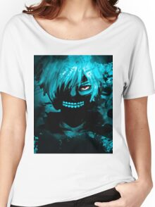 Tokyo Ghoul - Cyan Women's Relaxed Fit T-Shirt