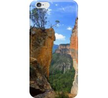 Burramoko Head and Hanging Rock in NSW Blue Mountains Australia landscaps iPhone Case/Skin