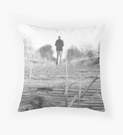 Wandering Throw Pillow
