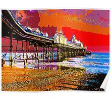 Eastbourne Pier Poster