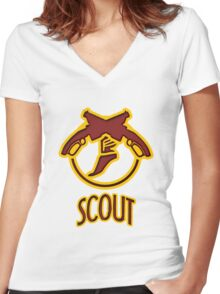 TF2 Scout Women's Fitted V-Neck T-Shirt