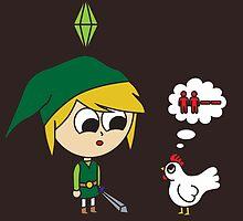 Link Sims by Alyssa Brensinger
